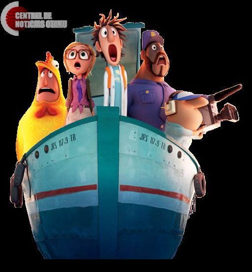 Lluvia de Hamburguesas: Confirmada serie de animación